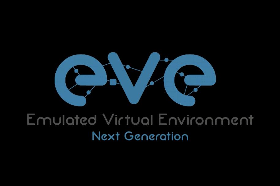 Boot screen EVE-NG